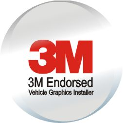 3M Endorsed Vehicle Graphics Installer