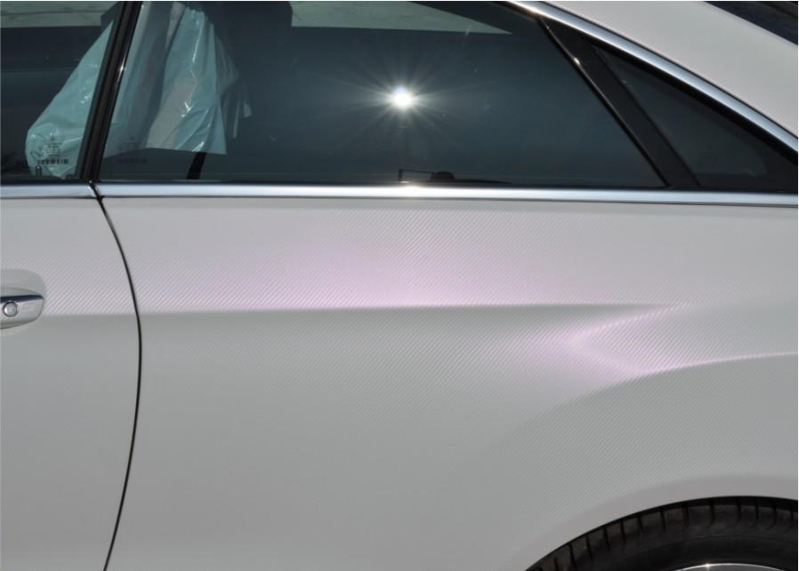 Pics E350 Cdi Full Pearl White Carob Vinyl Wrap